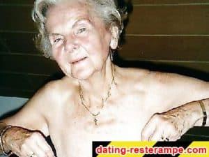 Alte Frau kennenlernen